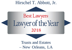 Hirschel Abbott Lawyer of the Year