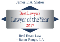 James Slaton Best Lawyers - Lawyer of the Year