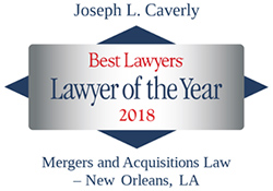 Joseph Caverly Lawyer of the Year
