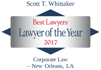 Scott Whittaker Best Lawyers - Lawyer of the Year