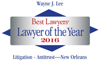 Wayne Lee Lawyer of the Year